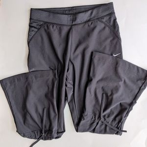 Nike Dri-Fit Flare Leg Tie Back Pants